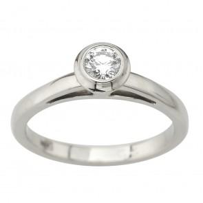 Каблучка з декількома діамантами 941-2112