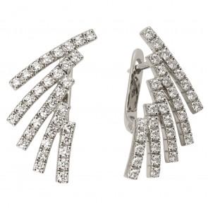 Сережки з декількома діамантами 942-0720