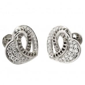 Сережки з декількома діамантами 942-1030