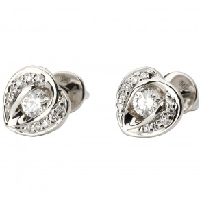 Сережки з декількома діамантами 942-1113