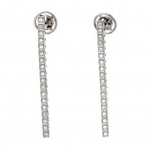 Сережки з декількома діамантами 942-1312