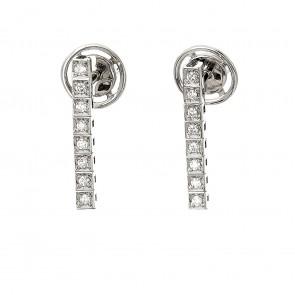 Сережки з декількома діамантами 942-2109