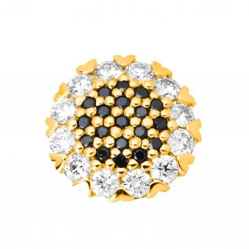 Підвіска з декількома діамантами 049-0683