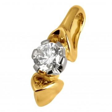 Підвіска з 1 діамантом 329-0463