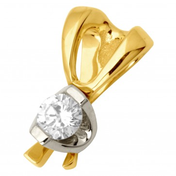 Підвіска з 1 діамантом 329-0655