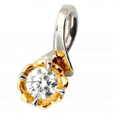 Підвіска з 1 діамантом 329-0807