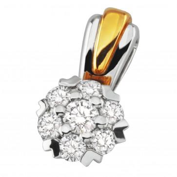 Підвіска з декількома діамантами 349-0624