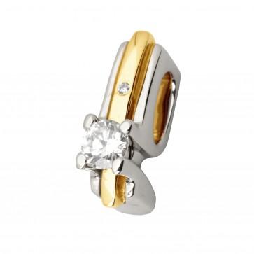 Підвіска з декількома діамантами 349-0637