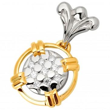 Підвіска з декількома діамантами 349-0748