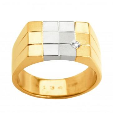 Перстень з 1 діамантом 821-0831