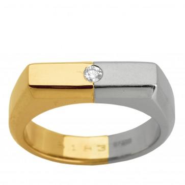 Перстень з 1 діамантом 821-0848