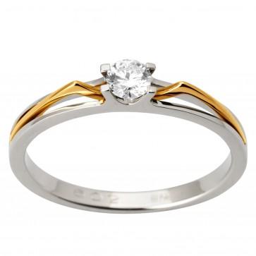 Каблучка з 1 діамантом 821-1705