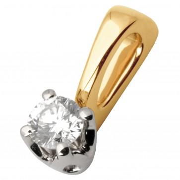 Підвіска з 1 діамантом 829-0657