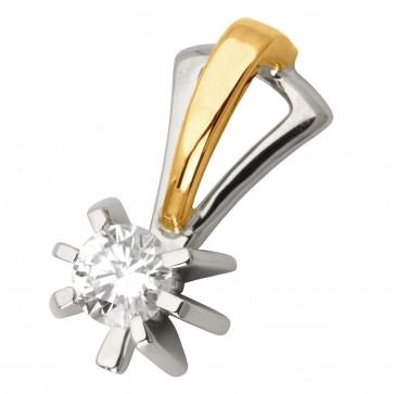 Підвіска з 1 діамантом 829-0715
