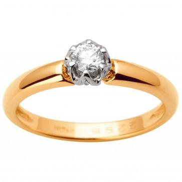 Каблучка з декількома діамантами 841-1641