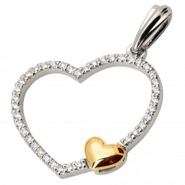 Підвіска з декількома діамантами 849-0514