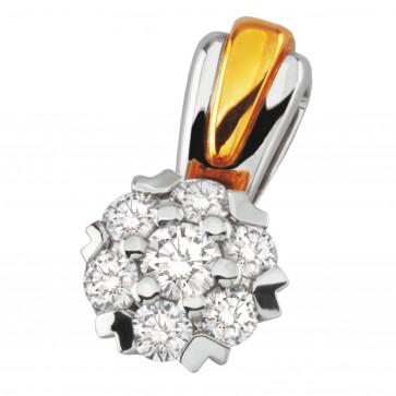 Підвіска з декількома діамантами 849-0624