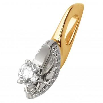 Підвіска з декількома діамантами 849-0699