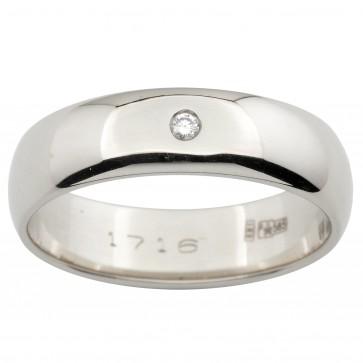 Обручка з 1 діамантом 921-0179