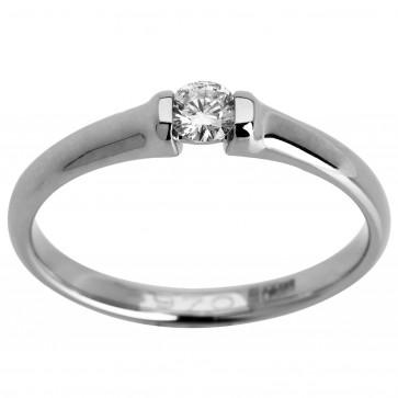 Каблучка з 1 діамантом 921-0914