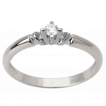 Каблучка з 1 діамантом 921-1675