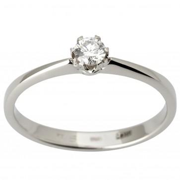 Каблучка з 1 діамантом 921-1844