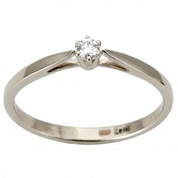 Каблучка з 1 діамантом 921-1879