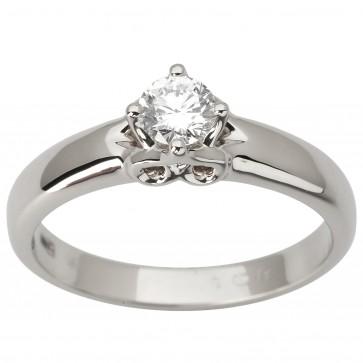 Каблучка з 1 діамантом 921-1935