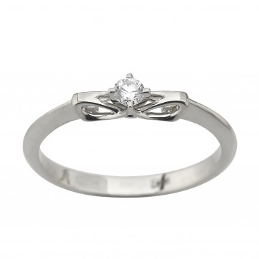 Каблучка з 1 діамантом 921-2100