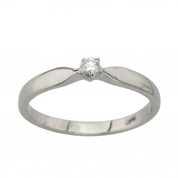 Каблучка з 1 діамантом 921-4003