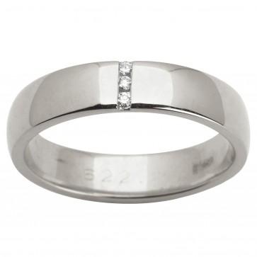 Обручка з декількома діамантами 941-1512