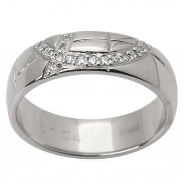 Обручка з декількома діамантами 941-1525