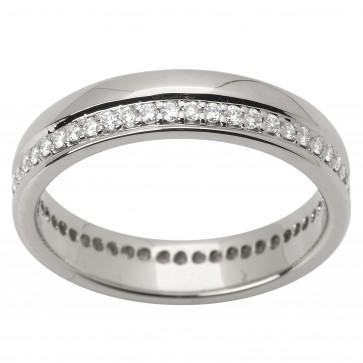 Обручка з декількома діамантами 941-1528