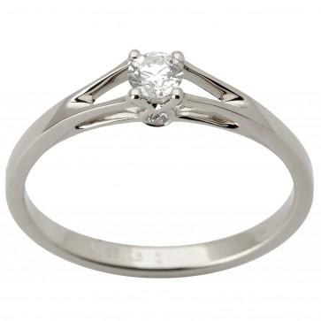 Каблучка з декількома діамантами 941-1758