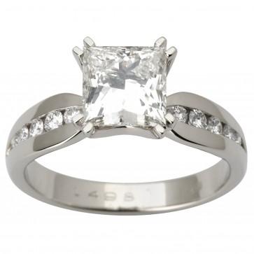 Каблучка з декількома діамантами 941-1764