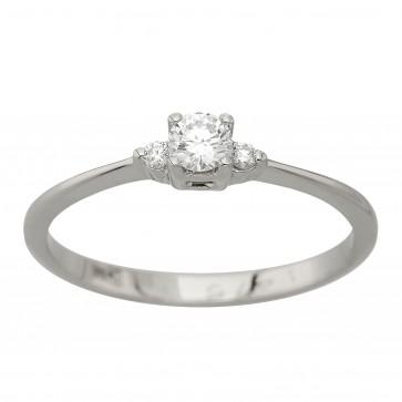 Каблучка з декількома діамантами 941-1972