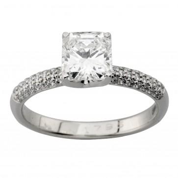 Каблучка з декількома діамантами 941-2020
