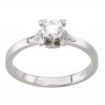Каблучка з декількома діамантами 941-2023