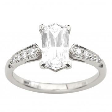 Каблучка з декількома діамантами 941-3045
