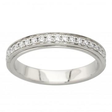 Каблучка з декількома діамантами 941-4005