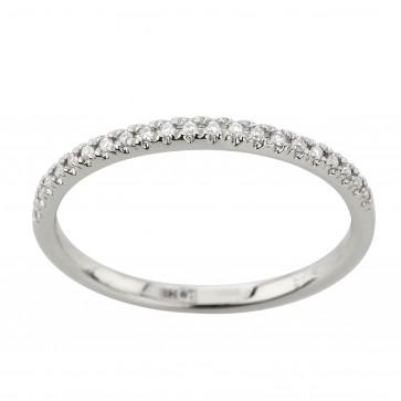 Обручка з декількома діамантами 941-4040