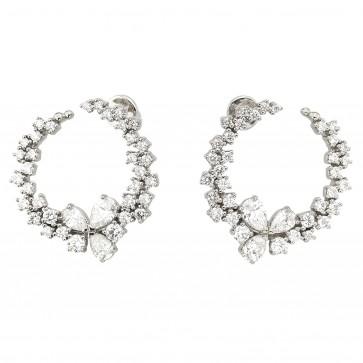 Сережки з декількома діамантами 942-1357
