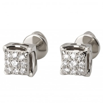 Сережки з декількома діамантами 942-2003