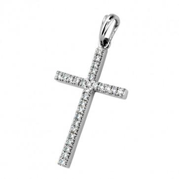 Хрест з декількома діамантами 949-0167
