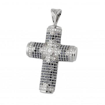 Хрест з декількома діамантами 949-0402