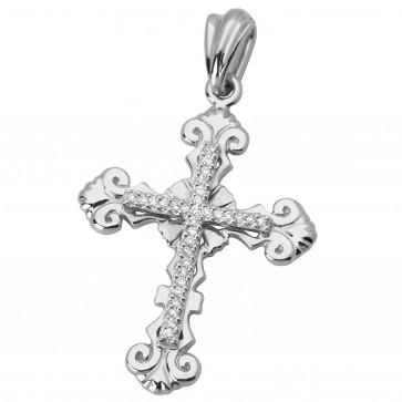 Хрест з декількома діамантами 949-0603