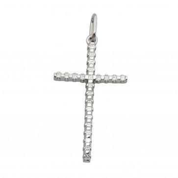 Хрест з декількома діамантами 949-0912