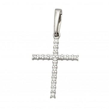 Хрест з декількома діамантами 949-4004