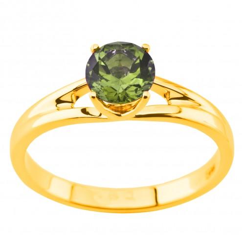 Каблучка з кольоровим камінням 001-1975