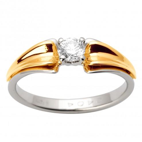 Каблучка з 1 діамантом 321-1598